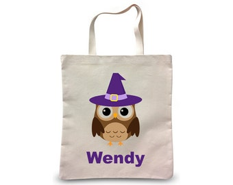 Trick or Treat Bag, Halloween Bag, Personalized Halloween Trick or Treat Bag, Halloween Gift, Halloween Present, Halloween Candy Bag