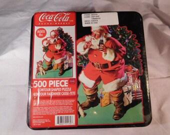 Classic Coca-Cola UNOPENED Jigsaw Puzzle