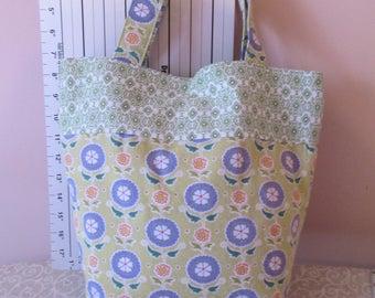 Tote Bag with Snap Closure