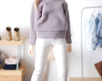Classic cold gray sweatshirt for minifee MSD FR16 and other 1/4scale