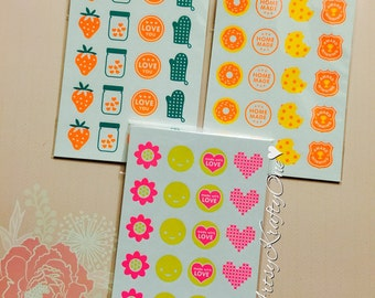 Planner Stickers (set of 3, scented)