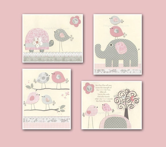 baby girl art nursery wall art baby girl room decor nursery
