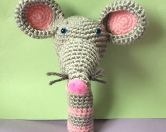 Maus rattle toy