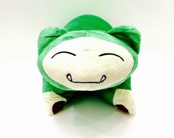 Snorlax Handmade Plush Pokemon Pillow Pet
