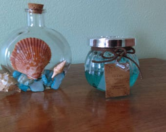 Sea Shell and Mosiac Tile Fragrance Diffuser  with Fragrance Beads