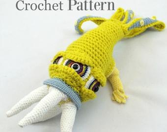 Monster Crochet Pattern, Monster Doll, Amigurumi Pattern, Crochet Doll Pattern,