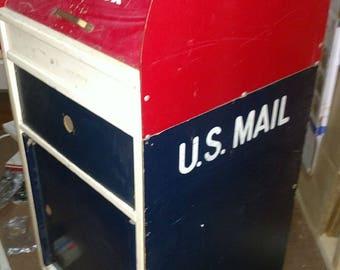 Vintage luan us mail mail toy box