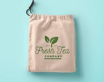 Custom logo merchandise favor bags Tea favor custom logo bags Organic Cotton Tea Bags Muslin Tea Bags,Tea Infuser,Organic,Drawstring