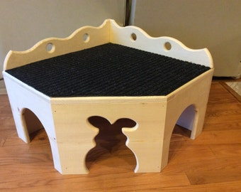 Bunny Rabbit Deluxe Corner House