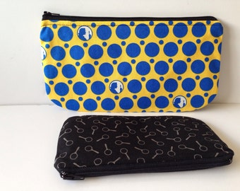 Nancy Drew Detective Zippered Pencil Pouch Gift Set