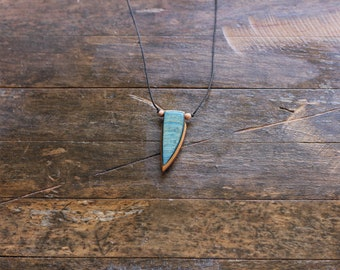 Handmade Recycled Skateboard Necklace