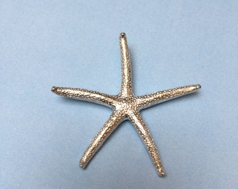 Large Starfish Pendant sold separately in .999 Fine Silver