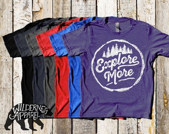 NEW ~ Explore More ~ Kids Crew Tee ~ Available In Vintage Colors