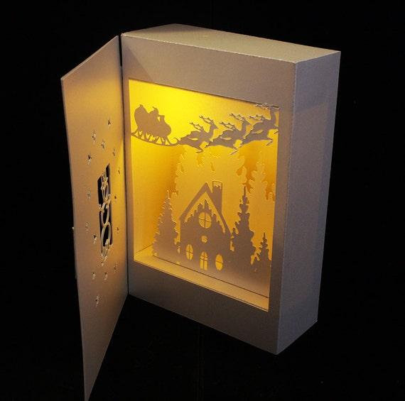 christmas collection bundle set of 6 shadow box lanterns templates from mysvghut on etsy studio. Black Bedroom Furniture Sets. Home Design Ideas