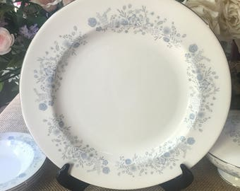 Wedgwood Belle Fleur platter 13 inch Chop Plate