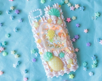 Fits iPhone 6+ Cotton Candy Shaker Decoden Case