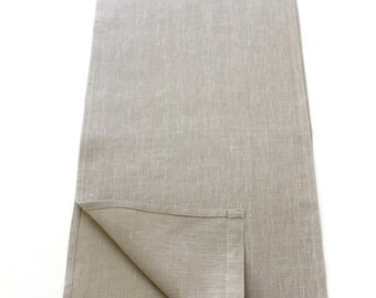 Linen Table Runner - Elegant Dining & Entertainment - Pure Style - Every Day Decor Essential