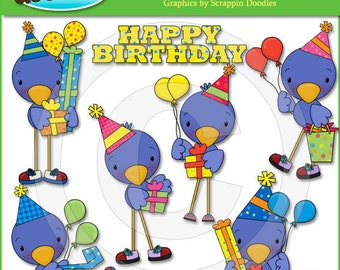Birthday Tweets Clip Art