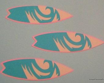 Surf board die cuts