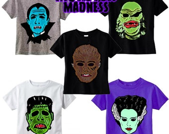 Monster Madness Tees