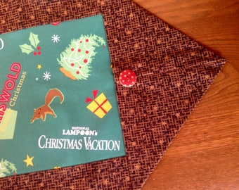 National Lampoon's Christmas Vacation Basic Holiday Table Runner/Winter Table Decor/The Griswold Family/Squirrel/Family Truckster
