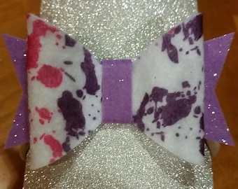 Paint Splatter Lyla Bow