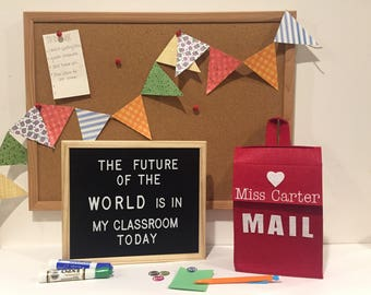 Personalized Teacher Mailboxes! Quick ship!