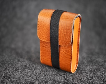 Leather Felt Camera Case Box Hand-made Contax T2
