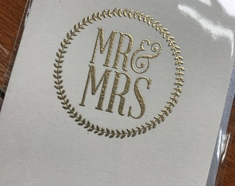 Mr. & Mrs. Card