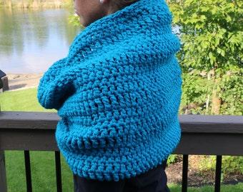 Ladies' Chunky Hooded Cowl Hooded Snood Crochet Hood Crochet Cowl Infinity Scarf Cowl Crochet Pattern