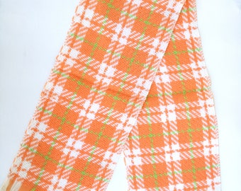 Vintage pure wool scarf made in italy, 1960s