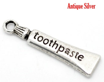 Toothpaste Charm - Clip-On - Ready to Wear
