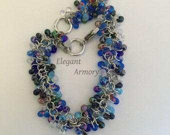 Shaggy Beaded Bracelet
