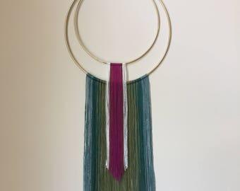 Medium Mixed Fiber Modern Wall Hanging - Suzy Bishop