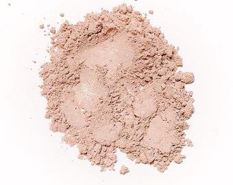 SUBTLE PETAL Soft Shimmer Mineral Foundation - Natural Mineral Makeup Vegan Gluten free