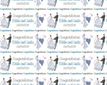 Personalised Wedding Engagement Gift Wrap