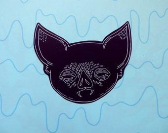 Bat Sticky || sticker