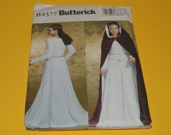 Uncut Butterick 4377 6-8-10-12 Renaissance Costume pattern