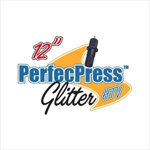 "Glitter HTV ""PerfecPress Brand"" Sheets"