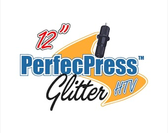 "Glitter HTV ""PerfecPress Brand"" Sheets"