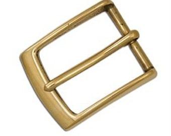 """Midtown Belt Buckle 1-1/2"""" Solid Brass 1661-11"""