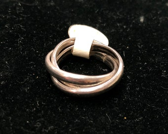 Sterling Silver Russian Rolling Rings