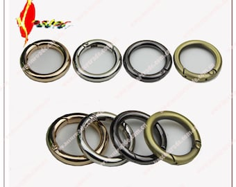 6 PCS 4 size Golden Purse round  Clasp, Screw Ring,  Connector Clasp, Replacement Clasp, garment coat ,trousers decorations KS-313