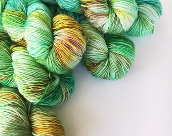 MINT JULEP Sublime Worsted sw Merino Single Ply Yarn