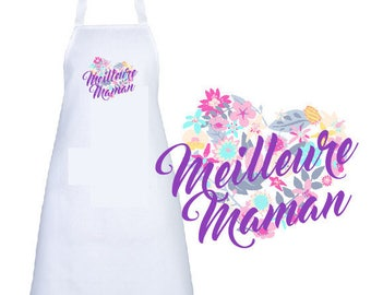 """BEST MOM"" ADULT APRON"