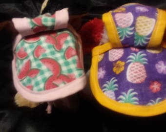 Beach and Summer Small Dog Hats