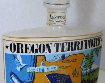 Oregon Territory 125th Anniversary 1848-1973 Liquor