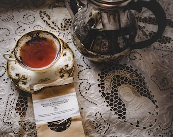 Austentatious Victorian Tea Blend 100 Grams - Historic Hand Blended 19th Century Loose Leaf Tea