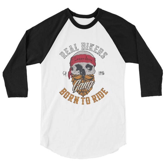 Born to Ride T-Shirt Tumblr Hipster Grunge Aesthetic Alternative Fashion Outlaw Urban Rad Biker Motorcycle Tee eshaN7KY