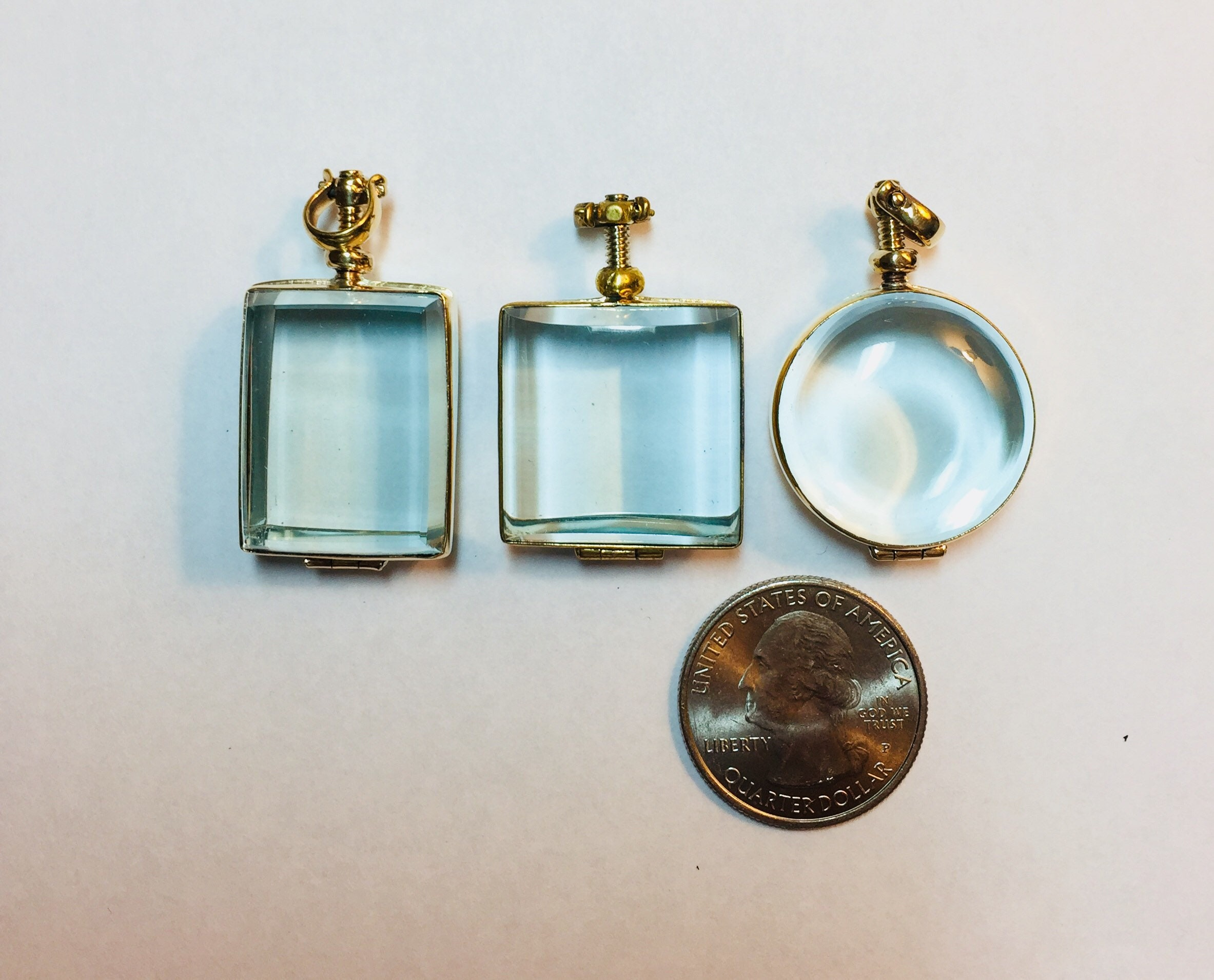 our glass lockets shadow enterprises finish image brass pendant box square locket pkg hhh